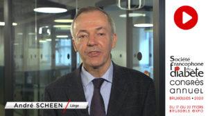 Le professeur André Scheen nous présente le congrès