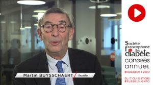 Le professeur Martin Buysschaert vous invite à participer au congrès